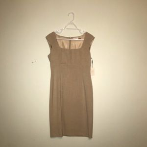Calvin Klein Sand bodycon dress